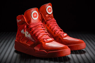 Pizza Hut® unveils the Pie Tops II sneakers that order pizza and pause the game with the push of a button