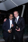 Mr. Kapil Sekhri, Co-Founder of Fratelli Wines, with Jean-Charles Boisset, proprietor of Boisset Collection (PRNewsfoto/Fratelli Wines)