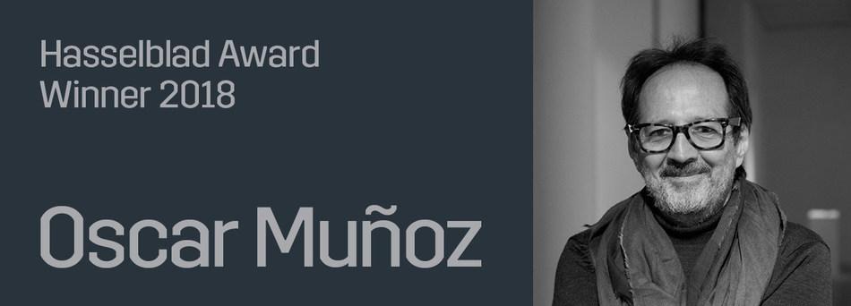 OSCAR MUÑOZ Hasselblad Award Winner 2018 (PRNewsfoto/Hasselblad Foundation)