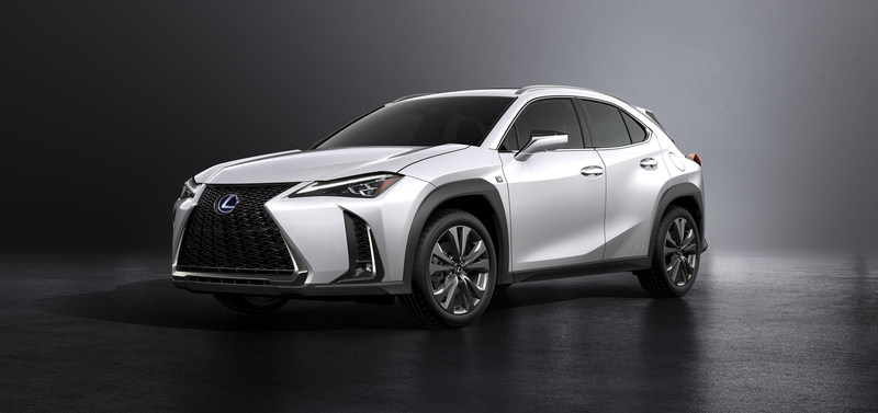 All New Lexus Ux Crossover Makes Its World Debut In Geneva
