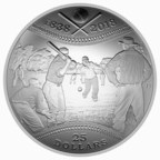 Royal Canadian Mint throws collectors a curve with new convex coin celebrating Canadian Baseball history (CNW Group/Royal Canadian Mint)