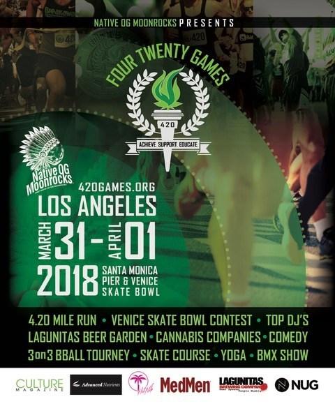 2018 Los Angeles 420 Games