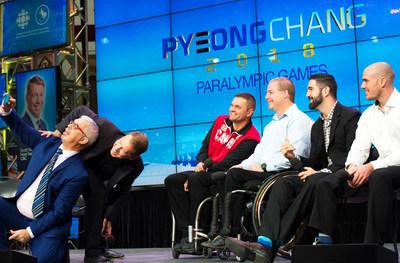 L'action aux Jeux paralympiques d'hiver de PyeongChang 2018 sera diffusée minute par minute au Canada (Groupe CNW/Canadian Paralympic Committee (Sponsorships))