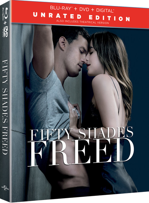 From Universal Pictures Home Entertainment: Fifty Shades Freed