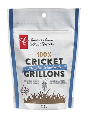 President's Choice 100% Cricket Powder® (CNW Group/Loblaw Companies Limited)