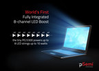 pSemi Releases World's First, Fully Integrated, 8-channel LED Boost