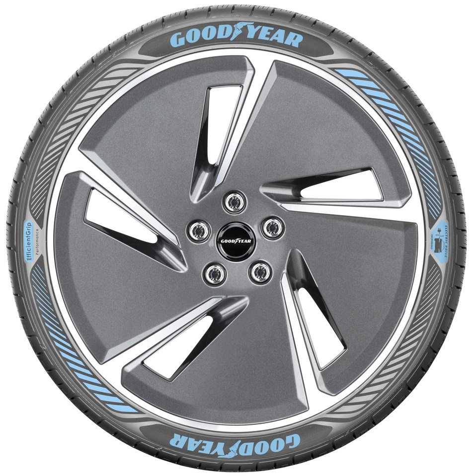 EfficientGrip PErformance - Side view (PRNewsfoto/Goodyear)
