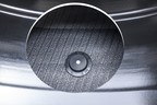 Eagle F1 Asym3 Inside view Detail Cutout Chip (PRNewsfoto/Goodyear)