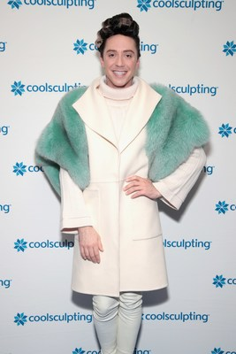 CoolSculpting by Allergan hosted CoolSculpting on Ice at Rockefeller Center in New York City on Monday, March 5 with figure skating superstar Johnny Weir to discuss the non-invasive fat-reduction treatments science experience and results. (Photo by Cindy Ord/Getty Images for CoolSculpting)
