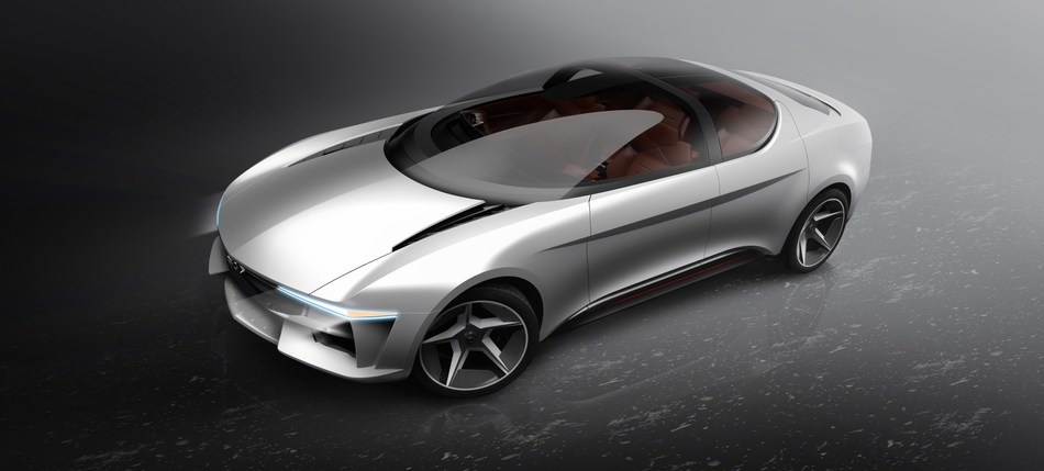 GFG Style and Envision unveil concept car Sibylla at Geneva Motor Show