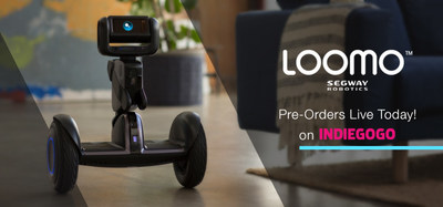 Segway Robotics Launches Indiegogo Campaign for Loomo - The World's First Mobile Robot Sidekick