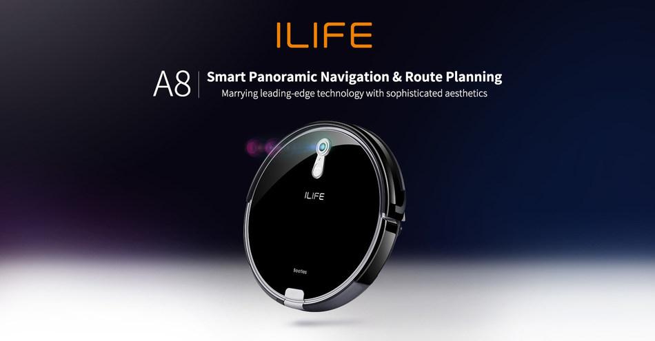 ILIFE Robot Vacuum Cleaner A8