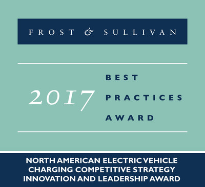 2017 North American Electric Vehicle Charging Competitive Strategy Innovation and Leadership Award