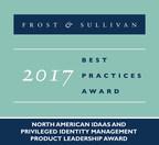 2017 North American IDaaS and Privileged Identity Management Product Leadership Award (PRNewsfoto/Frost & Sullivan)