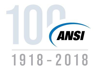 ANSI's 100 Year Logo (PRNewsfoto/ANSI)