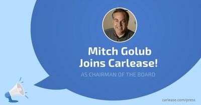 Mitch Golub Joins Carlease Board of Directors as Chairman of the Board