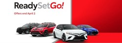 "The ""Ready, Set, Go!"" promotion at Michael Toyota includes low pricing, low financing rates and favorable lease terms on new Toyota vehicles."