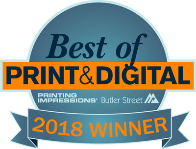 Taylor Communications Named Winner Of 2018 Best of Print & Digital® Award