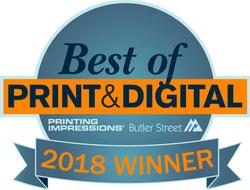 Taylor Communications Named Winner Of 2018 Best of Print & Digital® Award