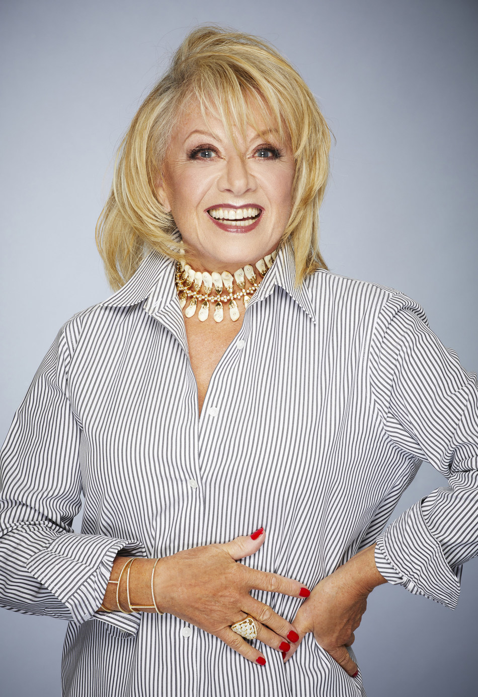 One of the world's best-loved and most highly awarded actresses and singers, Elaine Paige, will serve as godmother to Seabourn's elegant new all-suite ship, Seabourn Ovation.