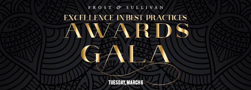 Frost & Sullivan Excellence in Best Practices Awards Gala
