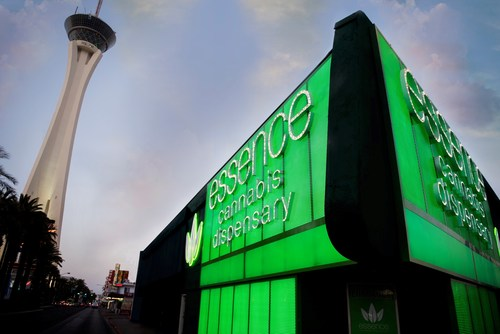 Essence Vegas celebrates its second anniversary as the first and only cannabis dispensary on the famed Las Vegas Strip