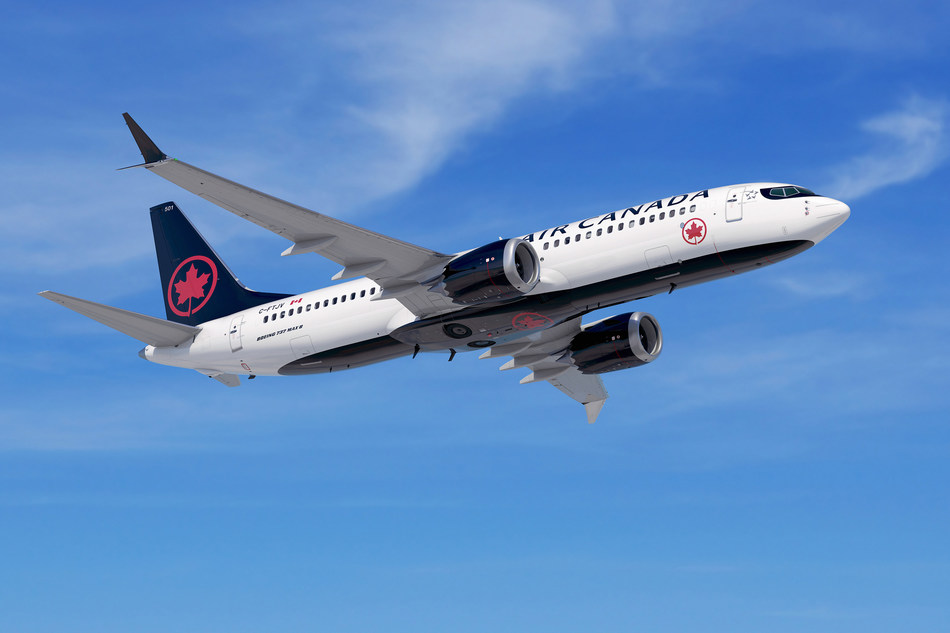 Air Canada To Launch New Service to Kauai, Double Frequency of Western Canada Flights to Hawaii With New Boeing 737 MAX Fleet (CNW Group/Air Canada)