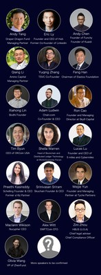 The summit will have an audience of over 1,000 people and more than 30 speakers who are leading blockchain experts or investors in the world. Media reporters from 9 countries will cover the event. Some of the confirmed speakers are listed below. You can get information about other speakers by visiting the official website of the event.