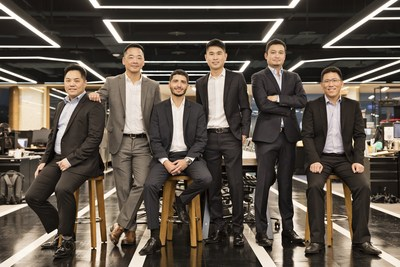 Group photo of Nogle capital management. (Third from the right) Jonathan Leong, Executive Chairman of Nogle Limited; (Forth from the right) Carlos Salas, Managing Partner of Nogle Capital Management