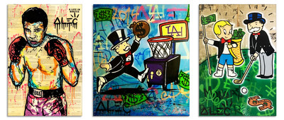 Alec Monopoly Artworks