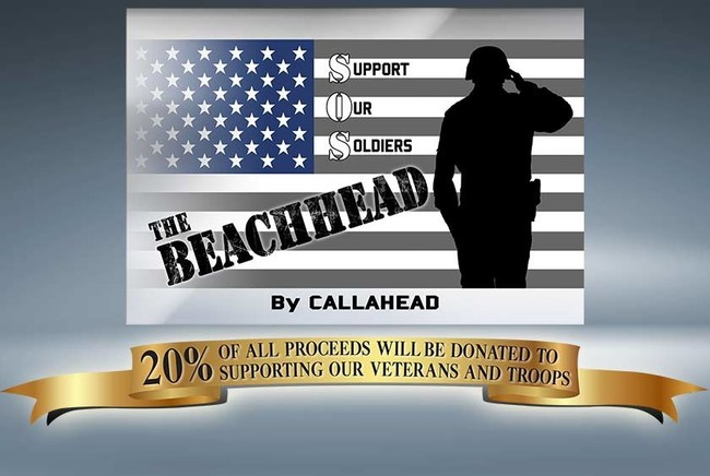 The BEACHHEAD Restroom promises to donate 20% of all proceeds to charities supporting our military and veterans.