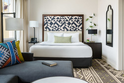 Enjoy a restful night's sleep in the Urban Suite at San Francisco's Hotel Spero.