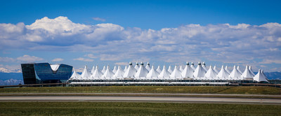 WestJet becomes the first Canadian airline flying nonstop to Denver International Airport (DEN) from Calgary. (CNW Group/WESTJET, an Alberta Partnership)