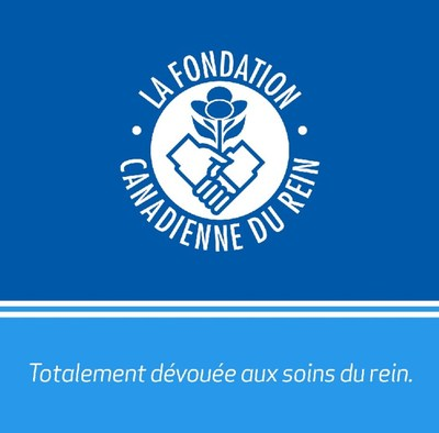 La Fondation canadienne du rein (Groupe CNW/Fondation canadienne du rein)