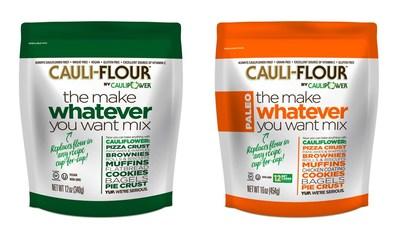 CAULIPOWER Launches First-Ever Vegetable-Based Baking Mixes: CAULI-FLOUR by CAULIPOWER aka Make Whatever You Want Mix - Original and Paleo