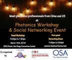 Photonics Workshop & Social Networking Event