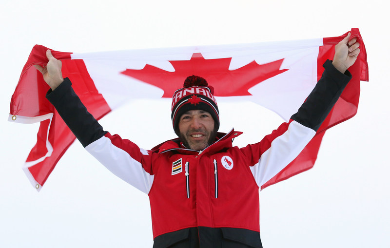 Brian McKeever (Canmore, AB) will lead the Canadian Paralympic Team into the Opening Ceremony as flag bearer at the PyeongChang 2018 Paralympic Winter Games. (CNW Group/Canadian Paralympic Committee (Sponsorships))