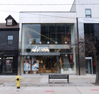 An exterior view of the ASICS Queen Street West Flagship Store in Toronto. (Photo by Phrmcy Studios for ASICS Canada) (CNW Group/ASICS Canada)
