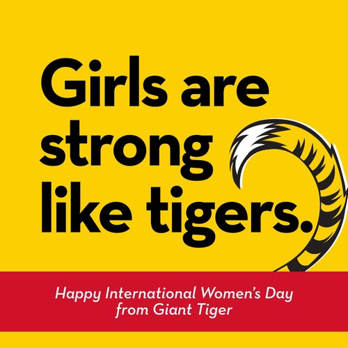 Giant Tiger supports women today and every day (CNW Group/Giant Tiger Stores Limited)