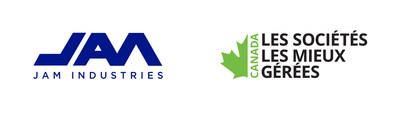 Les Industries JAM et Les Sociétés les mieux gérées (Groupe CNW/Jam Industries)