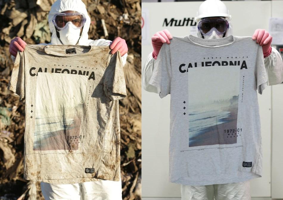 Vanish Before & After California Tee (PRNewsfoto/Vanish)