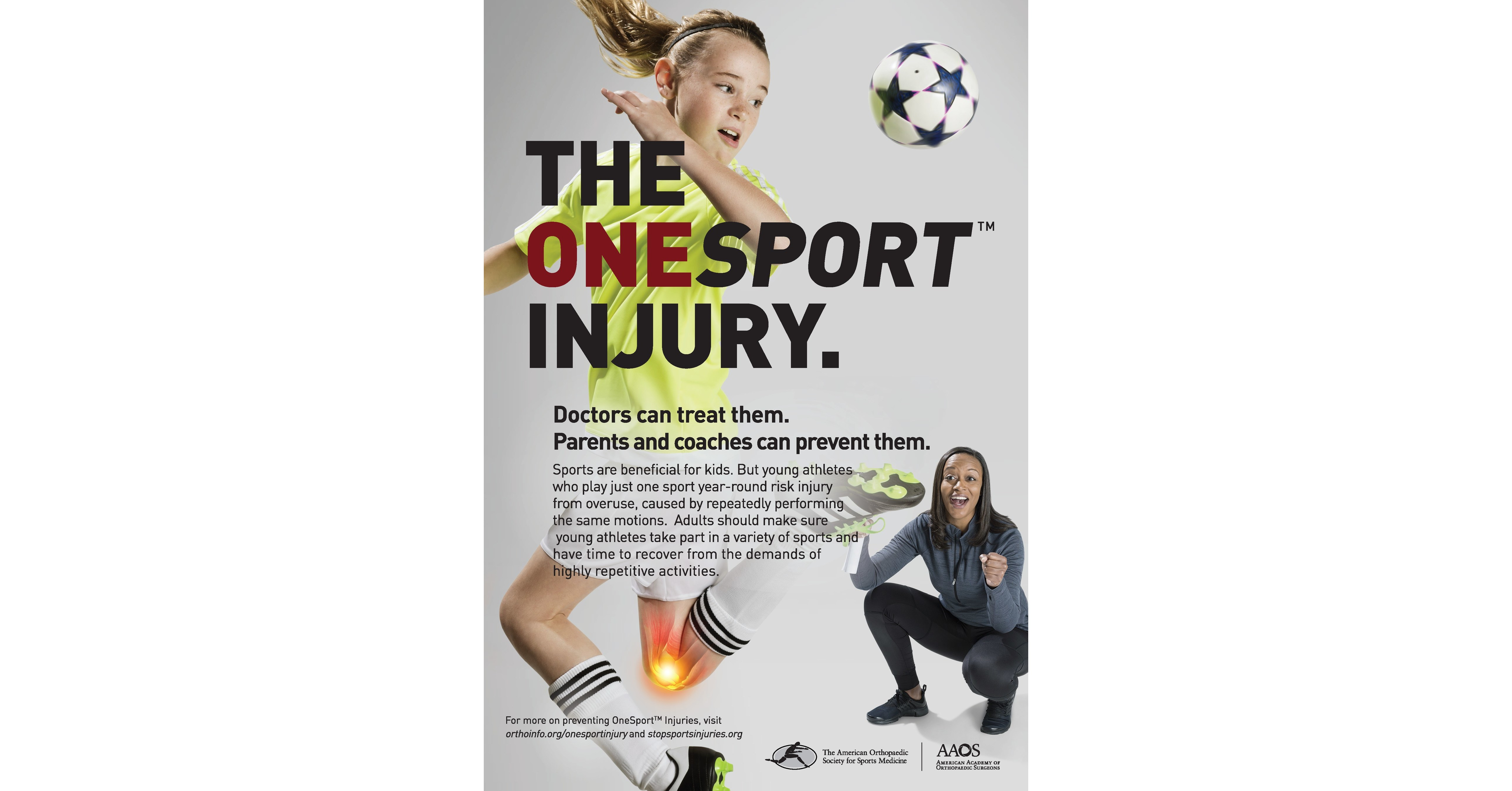 New campaign tackles falls prevention, youth sports specialization