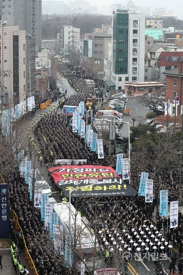 More than 100,000 citizens protest and call for legislation to protect religious freedom in South Korea