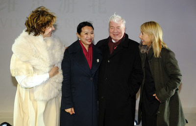 Pictured during the naming celebration of Viking Sun on March 8 in Shanghai, from left to right: Norwegian singer Sissel Kyrkjebø, Viking Sun Godmother Mrs. Yi Lou, Viking Chairman Torstein Hagen and Viking Senior Vice President Karine Hagen. Viking Sun is the fourth 930-guest ocean ship from Viking and the first-ever ship to be named on The Bund in Shanghai. For more information visit: www.vikingcruises.com