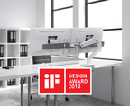 Ergotron HX Desk Dual Monitor Arm Wins Prestigious 2018 iF Design Award