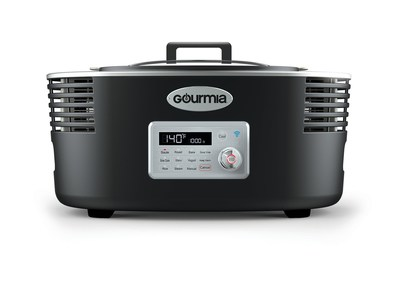 Gourmia�s new IoT Cool-Cooker allows busy cooks to put the ingredients into it in the morning and the unit keeps the food cold until it starts cooking when you tell it to! It is compatible with both Google Assistant and Amazon Alexa, and features AI that allows it to learn users' cooking preferences. The Cool-Cooker can be controlled by Gourmia�s mobile app, users can delay the start of cooking if they are running late at work � or start it cooking earlier.