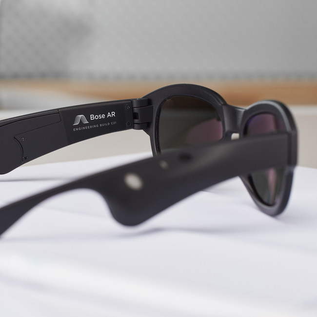 Bose introduces audio augmented reality platform, and unveils the future of mobile sound in eyewear prototype.