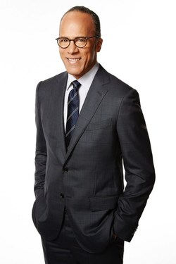 NBC NEWS' Lester Holt to Receive the LA Press Club's Lifetime Achievement Award