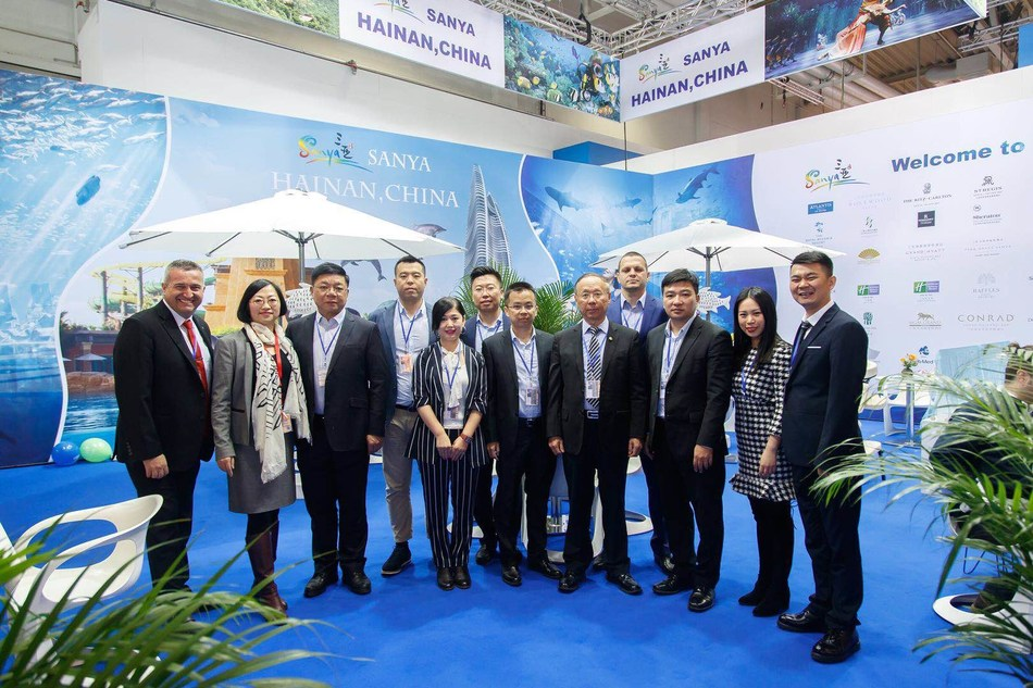 Hainan promotion group taking part in ITB
