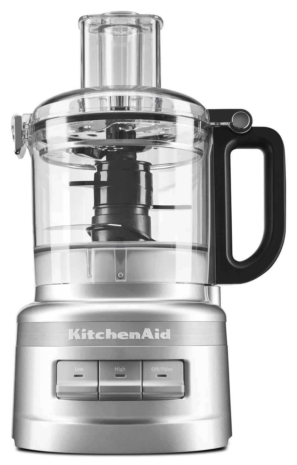 Launching in April, the KitchenAid 7 Cup Food Processor is easy to use, clean and store.